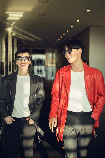 刘诗诗助阵米兰时装周Tod's专场秀 白Tee+廓形皮衣时髦帅气