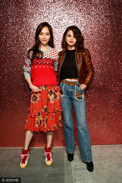 纽约2018春夏时装周 唐嫣、国美姐和Chiara Ferragni等助阵Coach专场秀