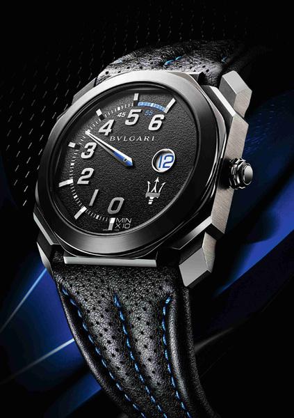 宝格丽,玛莎拉蒂联袂演绎机械美学 独家呈现两款全新限量octo腕表