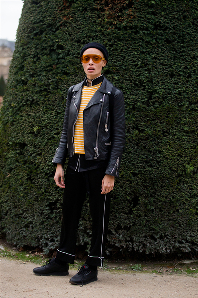 Vogue时光机:时装史上最酷的机车夹克
