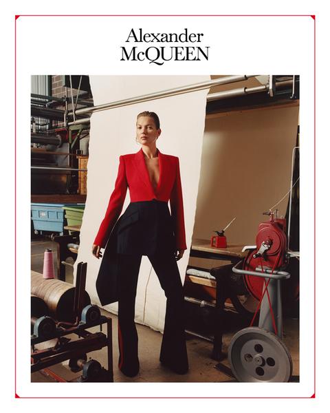Alexander McQueen 2019年秋冬系列广告大片