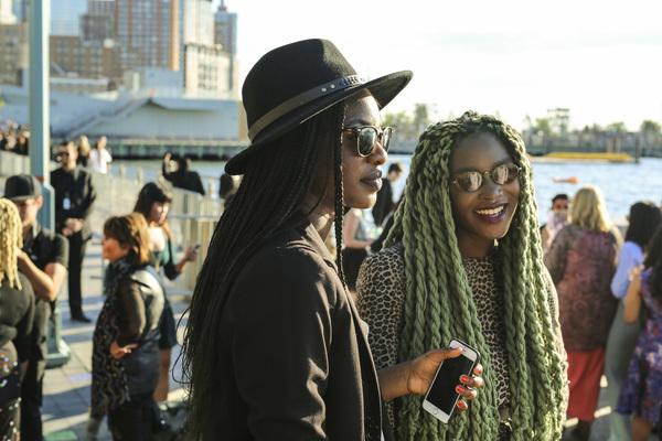 2016春夏纽约时装周街拍 Day2
