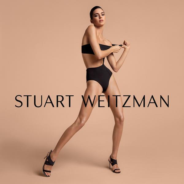 Kendall Jenner全新广告大片为Stuart Weitzman展开另一篇章