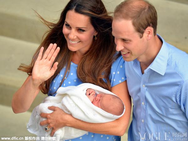 表情帝乔治小王子两岁生日 傲娇萌照大回顾