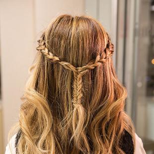 麻花卷发型图片展示图片