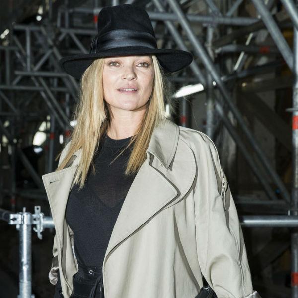 巴黎2017秋冬时装周 凯特·摩丝Kate Moss助阵Saint Laurent