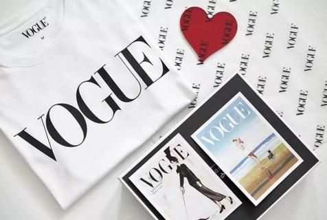 全新升级版明星同款VogueT恤 官方限量发售