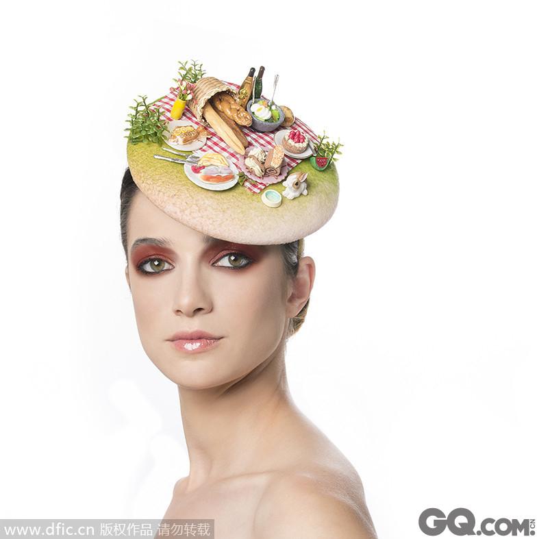 秋季野餐帽。