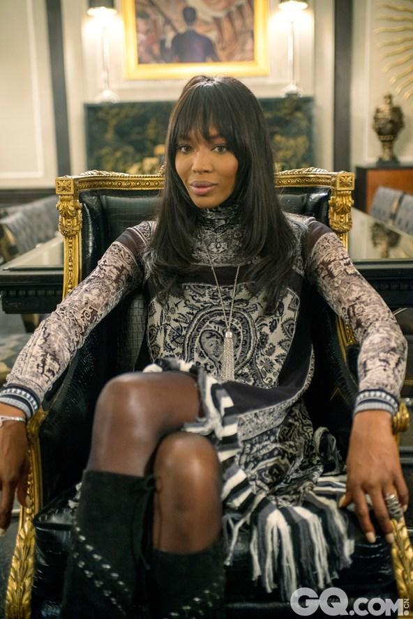 名模Naomi Campbell扮演Hakeem的前女友