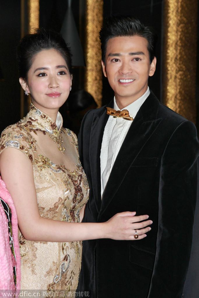 2014年2月12日,香港,陈晓东大婚。