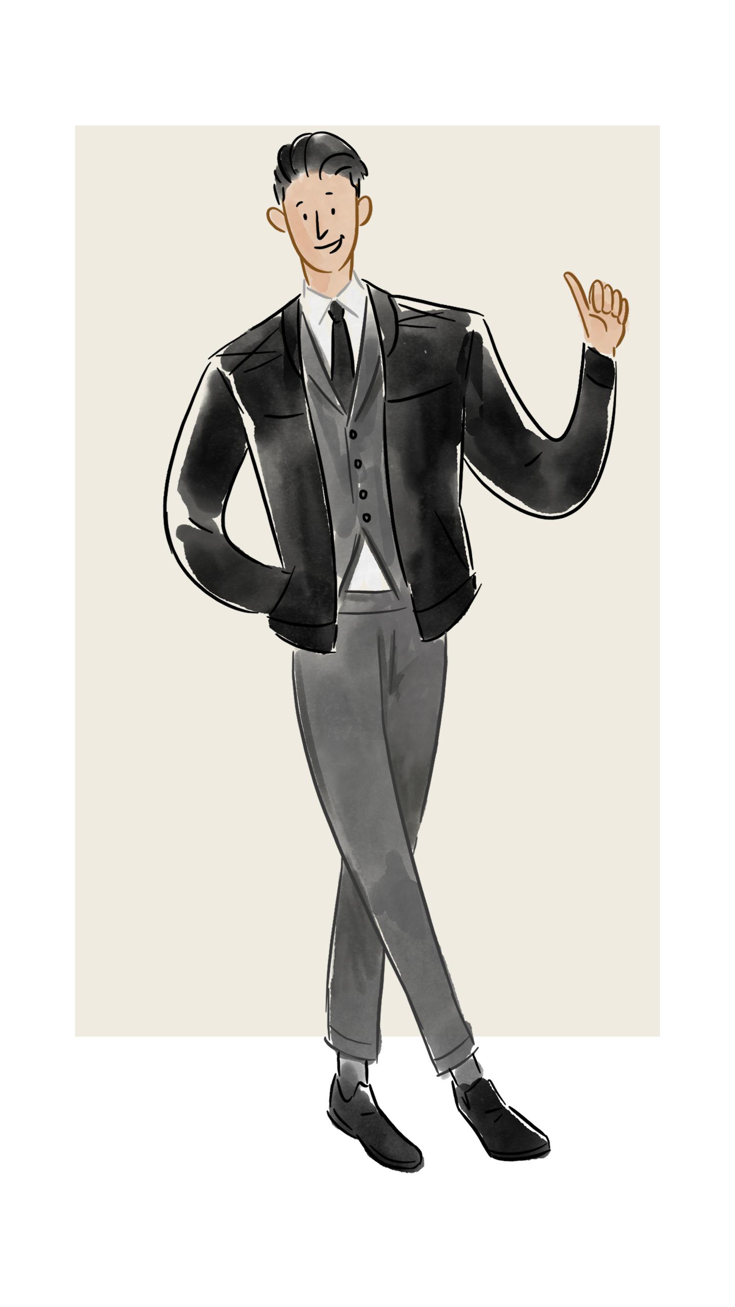 每日穿搭|机车皮夹克也能穿出英伦绅士感?