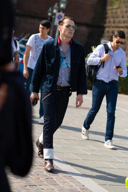 2019年6月佛罗伦萨男装周街拍DAY1