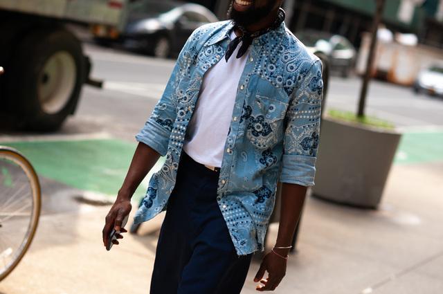 2019年6月纽约男装周街拍DAY3