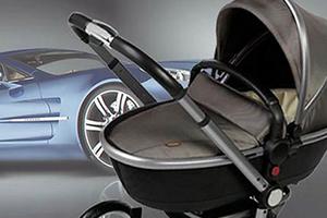 坐豪车从婴儿抓起!阿斯顿·马丁首款婴儿推车