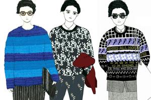 图说时尚 好看的毛衣摆这里等你去挑