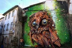 街头涂鸦也可以这样画