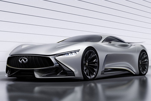 英菲尼迪的超跑 Vision Gran Turismo Concept