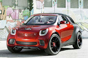 Smart将推品牌下首款SUV车型