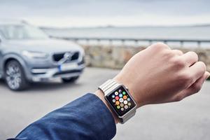Apple Watch新玩法 沃尔沃将发布升级版随车管家