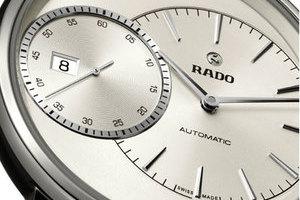 RADO瑞士雷达表DiaMaster钻霸系列大秒针腕表