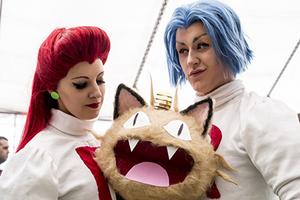 英国举行最大日本文化节 民众盛装大玩Cosplay