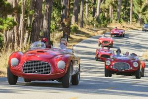 在圆石滩,这是全世界顶级古董车的聚会