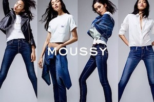 MOUSSY15周年 JEANS传递时装态度