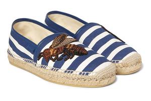 穿草编鞋迈入清凉夏日