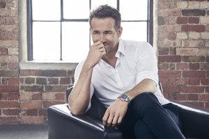 Ryan Reynolds:有了代言才戴表
