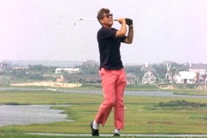 舒服=邋遢?高尔夫球裤要正名
