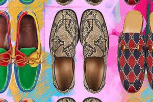 传统高雅的乐福鞋也逃不过被潮流改造的命运