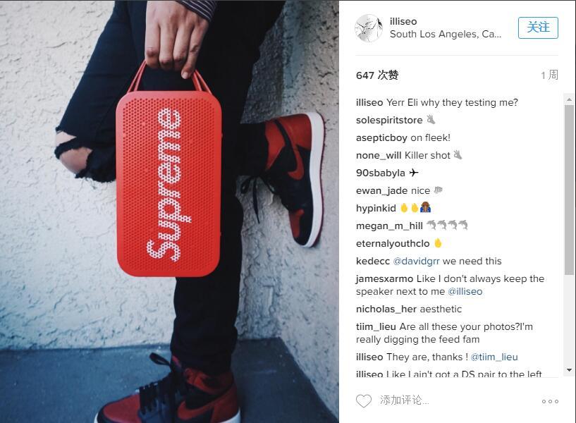 分享给sneakerhead的二十张运动鞋酷照