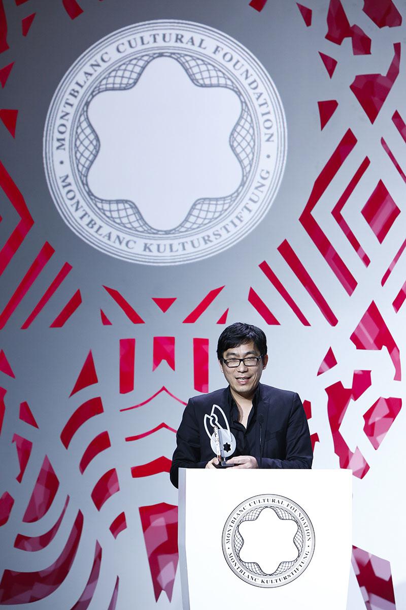 徐震荣膺2016年第二十五届万宝龙国际艺术赞助大奖