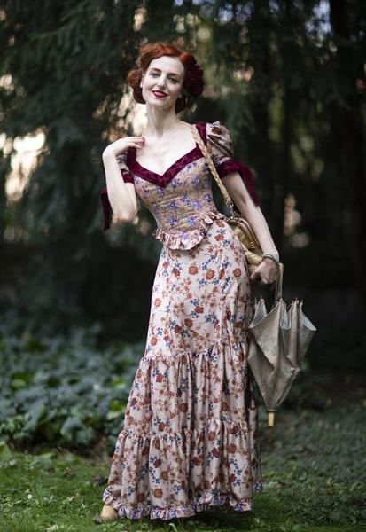 这个春天Prairie Dress了解一下